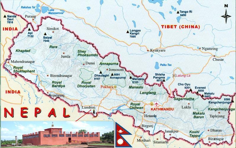 lumbini-map